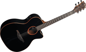 "LAG - Tramontane ""100"" Series T100ACEBLK Acoustic Electric guitar"