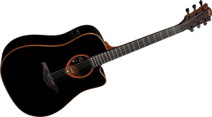 "LAG - Tramontane ""100"" Series T100DCEBLK Acoustic Electric guitar"