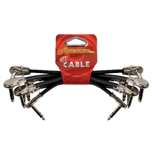 AUSTRALASIAN - 6 inch Patch Cables x 6