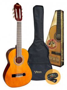 Valencia - 3/4 Size Classical Guitar Pack - Natural