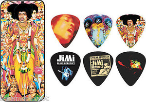 Hendrix Collectors Pick Tin - 12 Picks - Bold As Love
