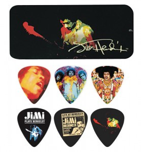 Hendrix Collectors Pick Tin - 12 Picks -Band Of Gypsy
