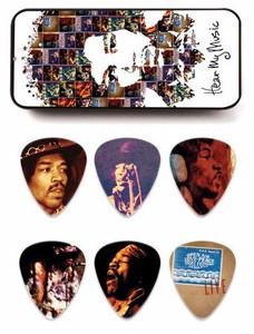 Hendrix Collectors Pick Tin - 12 Picks - Hear My Music