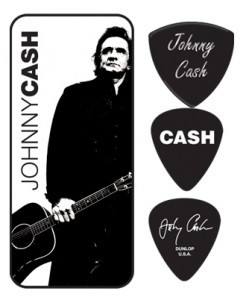 Johnny Cash Pick Tin - 5 picks