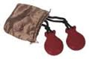 Finger Castanets - Red (Comes with pouch)