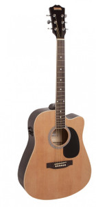 REDDING - Dreadnought Cutaway Electric/Acoustic  - Natural