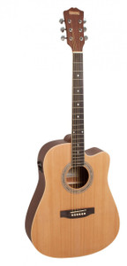 REDDING - Dreadnought Cutaway Electric/Acoustic  - Natural (60)