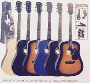 REDDING - Acoustic Guitar Package - Natural Gloss