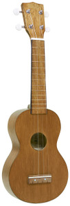 MAHALO Kahiko Series Soprano Ukulele Transparent Natural.