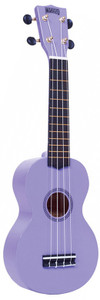 MAHALO Rainbow Series Soprano Ukulele Purple.