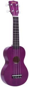 MAHALO Kahiko Plus Series Soprano Ukulele Transparent Purple.