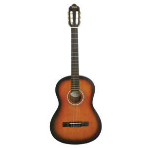 VALENCIA - 4/4 size classical guitar. Classic Sunburst.