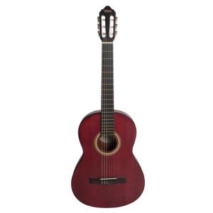 VALENCIA - 4/4 size classical guitar.  Transparent Wine Red.