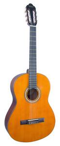 VALENCIA Hybrid Guitar.  4/4 size classical guitar. Thin Neck. Antique Natural.