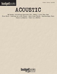 BUDGET BOOKS ACOUSTIC PVG