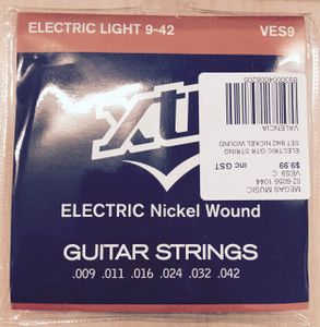 XTR – Electrical Light Guitar String Set (Nickel Wound) – 9 - 42