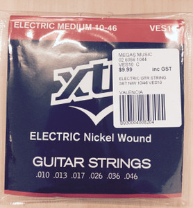 XTR – Electrical Medium Guitar String Set (Nickel Wound) – 10 - 46