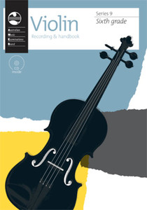AMEB VIOLIN GRADE 6 SERIES 9 CD/HANDBOOK