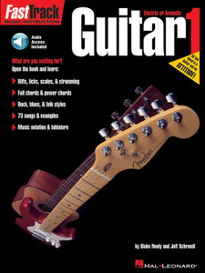 FASTTRACK GUITAR BK 1 BK/CD