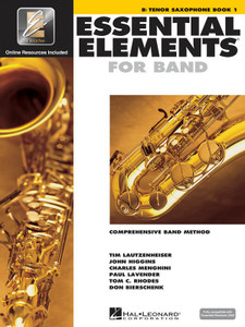 ESSENTIAL ELEMENTS FOR BAND BK1 TENOR SAX EEI