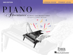 PIANO ADVENTURES LESSON PRIMER 2ND EDITION