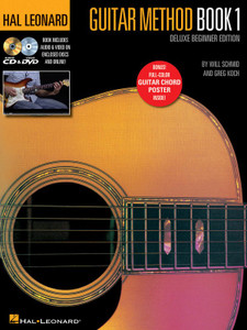 HL GUITAR METHOD BK 1 DELUXE BEGINNER EDITION