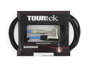 TourTek 3' Instrument Cable w/L-Jack (0.92m)