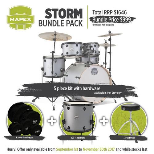 Strorm bundle Drum Pack - Iron Grey