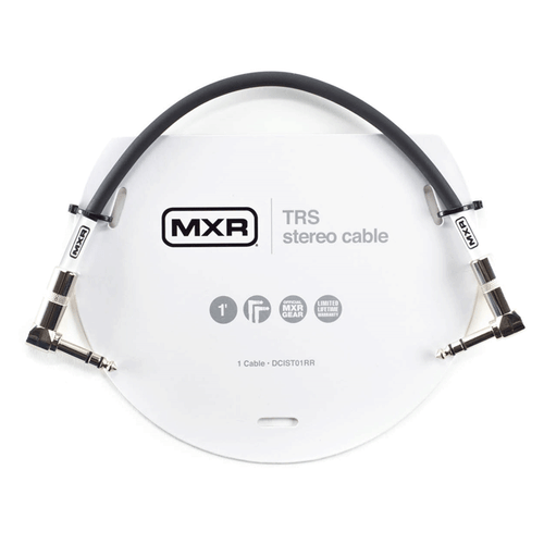 MXR TRS/Stereo Cable. (1ft)