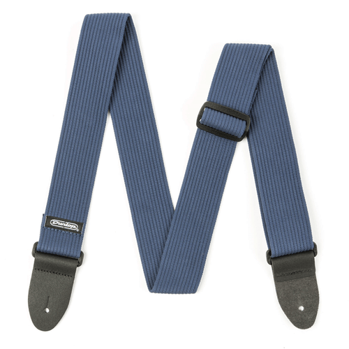 "Dunlop 2"" Ribbed Cotton Strap. (Navy Blue)"