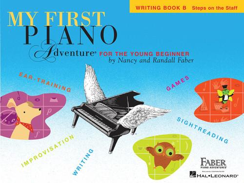 MY FIRST PIANO ADVENTURE WRITING BOOK B MUSIC BOOK