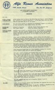 Overheard Cams January 1968
