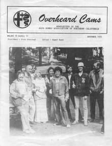 Overheard Cams January 1976