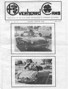 Overheard Cams July 1977