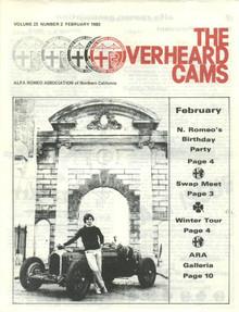Overheard Cams February 1983