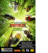 Brick Lady goes to the movies - join us for the LEGO®  Ninjago Movie
