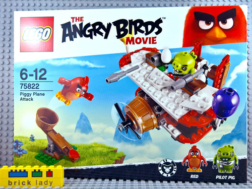 75822 LEGO® Angry Birds™ Piggy Plane Attack