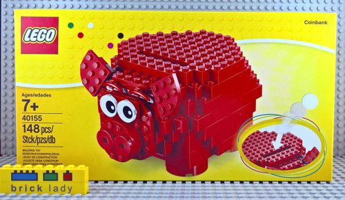 40155 LEGO® Piggy Coin Bank