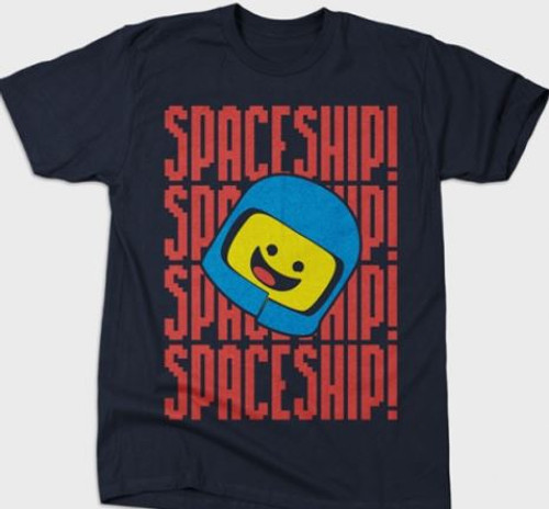 The Lego® Movie inspired t-shirt Benny's Spaceship!