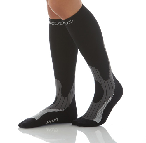 MoJo Elite - Winter Endurance Compression Socks -- Firm Support (20-30mmHg)