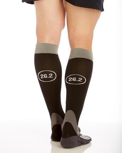 Mojo Marathon Decal Graduated Compression Socks - Firm Support (20-30mmHg)