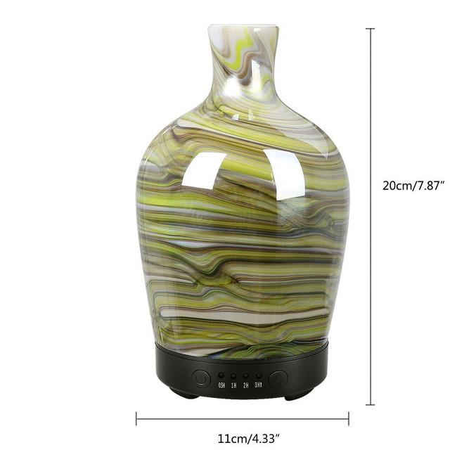 Glass Vase Diffuser Horizontal Stripe 100ml
