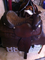 Tex Tan Hereford Size 15.5
