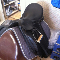 19 1/2 Stellar Dressage Saddle USED
