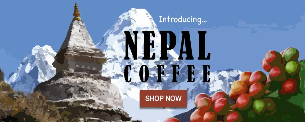Just in!  after searching for almost 5 years, Joes found it.  Nepal coffee from the Greenland Farm is a rare find.