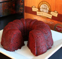Wicked Jack's Red Velvet Rum Cake