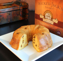 Wicked Jack's Rum Raisin Cake
