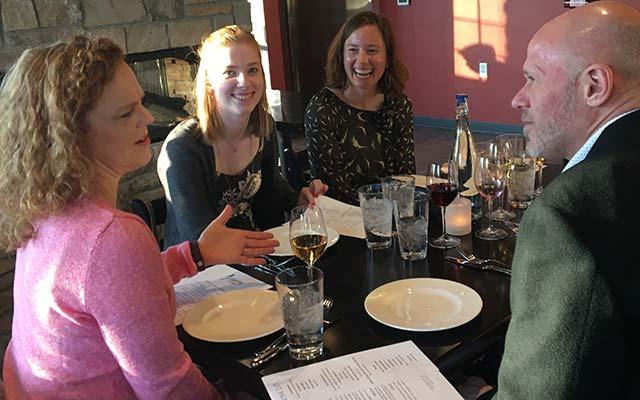 Dine at the new Glacier Ledge Restaurant in Egg Harbor, WI