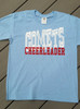 Youth T-shirt, Long Sleeve, or Hoodie - Comets Cheerleader - North Stanly