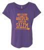 Not all Witches Live in Salem - Halloween Shirt - Funny Halloween Shirt - Womens Clothing - Wine Shirt